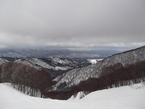 積雪多い。|村上市 ぶどうスキー場のクチコミ画像