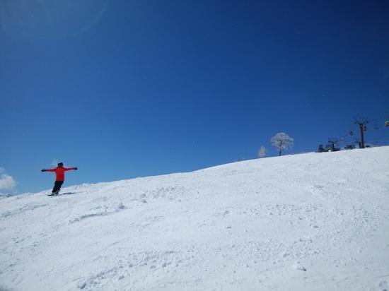 白と青|かぐらスキー場のクチコミ画像