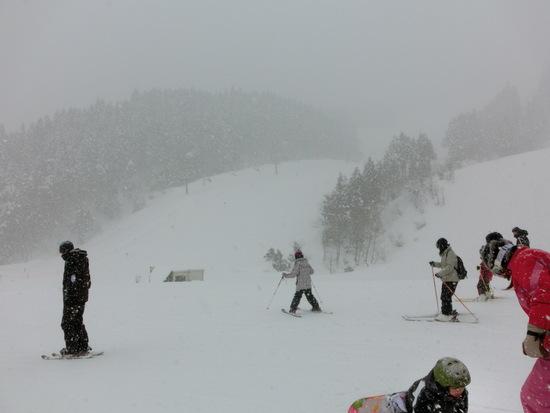 【あわすのスキー場】コンパクトながら地形で遊べる|立山山麓スキー場のクチコミ画像