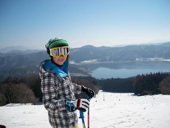 青木湖がきれい|白馬さのさかスキー場のクチコミ画像