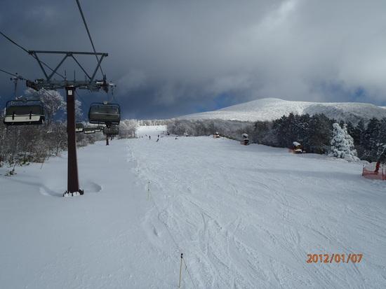 雪質最高、しかし寂しいゲレンデ|箕輪スキー場のクチコミ画像
