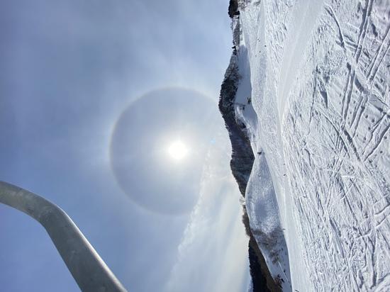 ハロ現象|おじろスキー場のクチコミ画像