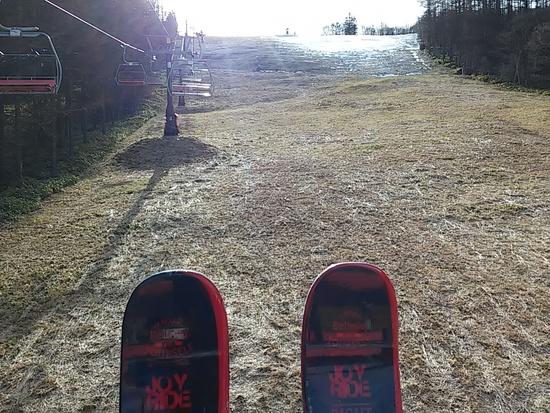 ショートスキーの初乗り しらかば2in1スキー場のクチコミ画像2