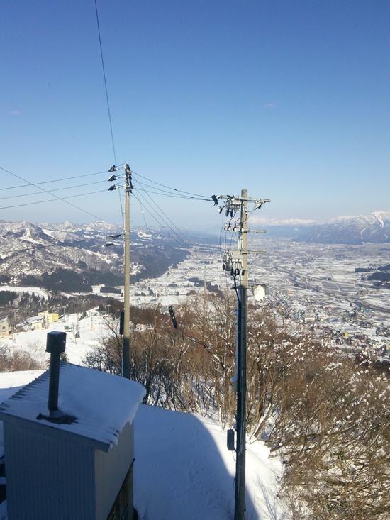 晴れたら最高|石打丸山スキー場のクチコミ画像2
