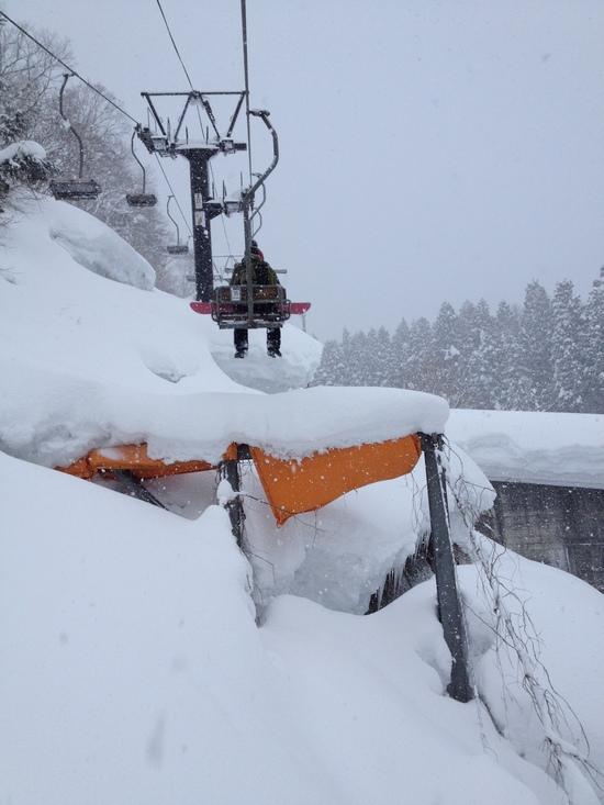 真湯ペアは便利 野沢温泉スキー場のクチコミ画像