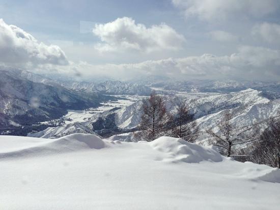 ずっどーん。一気にてっぺん。|六日町八海山スキー場のクチコミ画像1