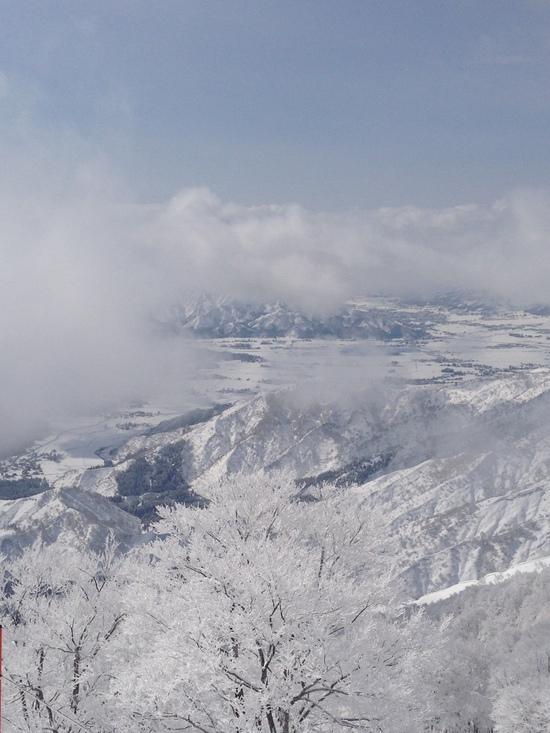 ずっどーん。一気にてっぺん。|六日町八海山スキー場のクチコミ画像2