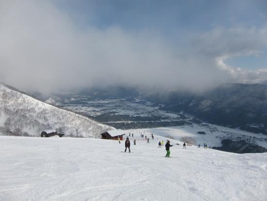 ルート1からの白銀白馬景色が凄い!|Hakuba47 ウインタースポーツパークのクチコミ画像