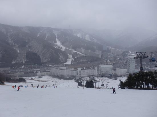 大斜面はかなり危険|苗場スキー場のクチコミ画像