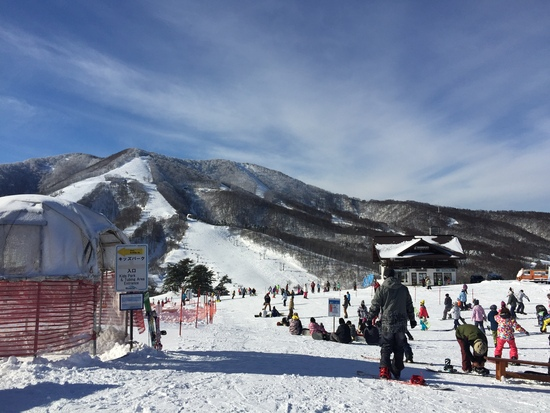 結構降りました。|斑尾高原スキー場のクチコミ画像