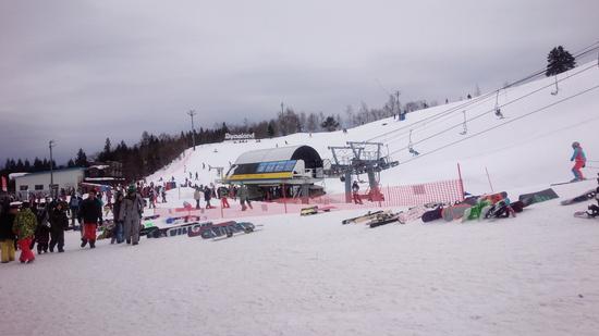 今シーズンの初滑り