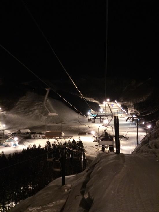 ナイター最高!|神立スノーリゾート(旧 神立高原スキー場)のクチコミ画像