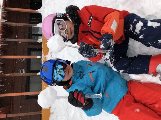 雪とつららで!|栂池高原スキー場のクチコミ画像
