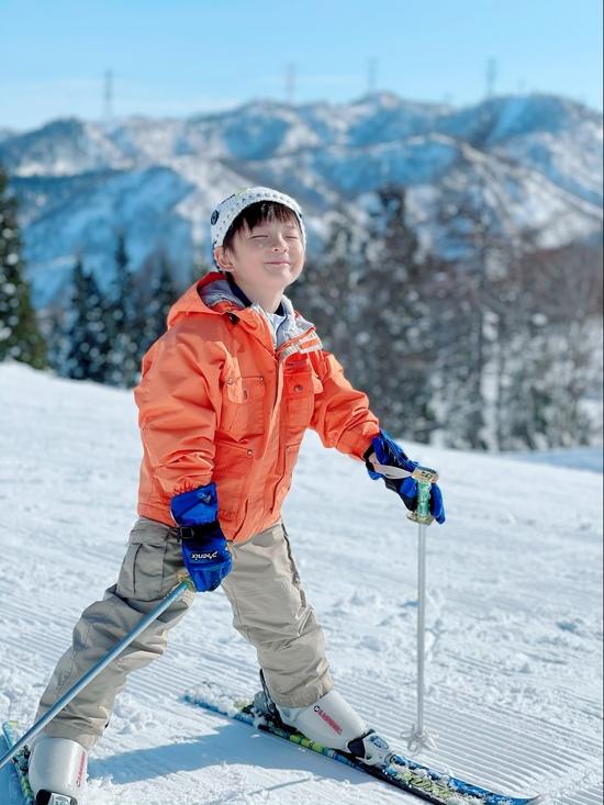 息子のスキーデビュー|ニュー・グリーンピア津南スキー場のクチコミ画像1