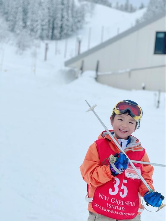 息子のスキーデビュー|ニュー・グリーンピア津南スキー場のクチコミ画像2