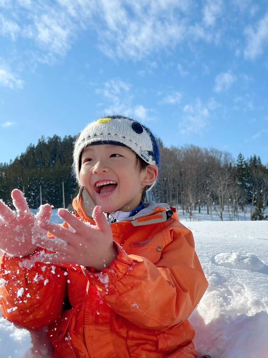息子のスキーデビュー|ニュー・グリーンピア津南スキー場のクチコミ画像3
