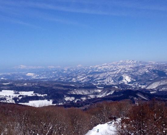 長野と新潟の山並みを一望できるスキー場|黒姫高原スノーパークのクチコミ画像