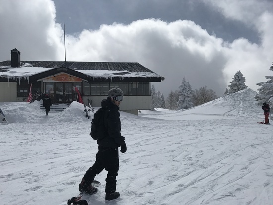 3月とは思えないコンディション!|竜王スキーパークのクチコミ画像