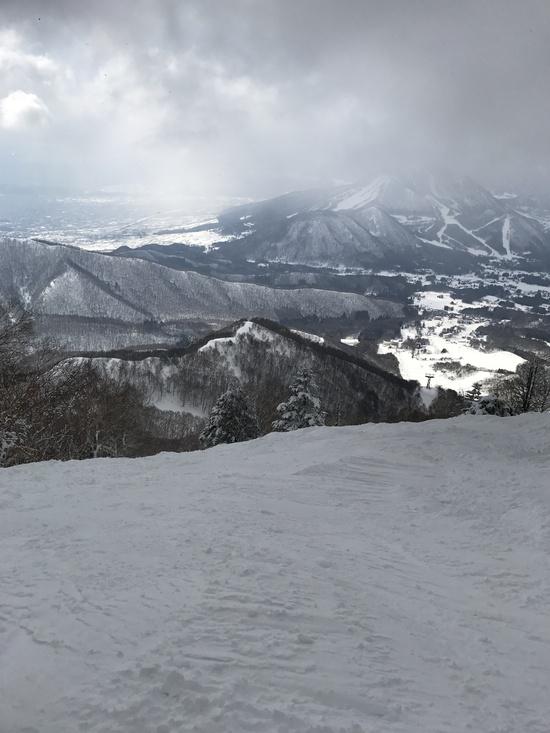 3月とは思えないコンディション!|竜王スキーパークのクチコミ画像2