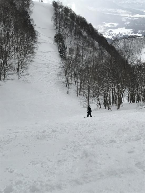 3月とは思えないコンディション!|竜王スキーパークのクチコミ画像3