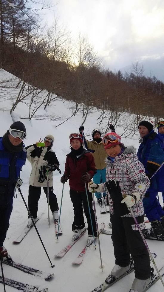 アラフォー&アラフィフ仲良し組|水上宝台樹スキー場のクチコミ画像
