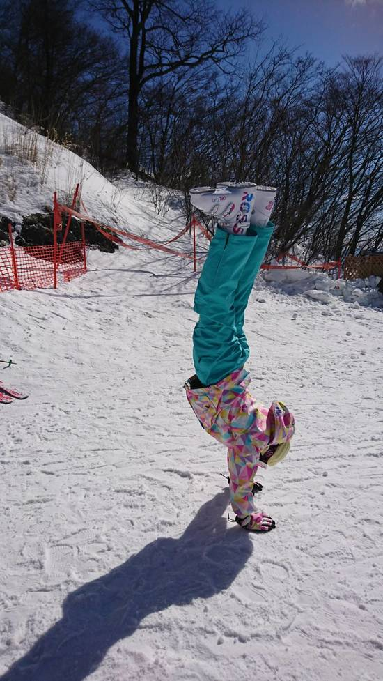 雪と戯れる|軽井沢プリンスホテルスキー場のクチコミ画像