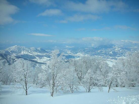 北信五岳がきれい 野沢温泉スキー場のクチコミ画像