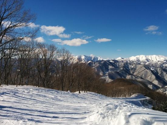 ダウンヒルとパラダイスコースは斜度があり、楽しめる|水上宝台樹スキー場のクチコミ画像
