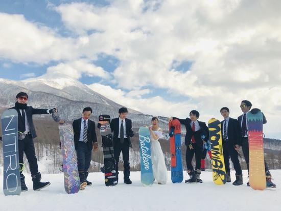 スーツ軍団とドレスで|星野リゾート アルツ磐梯のクチコミ画像