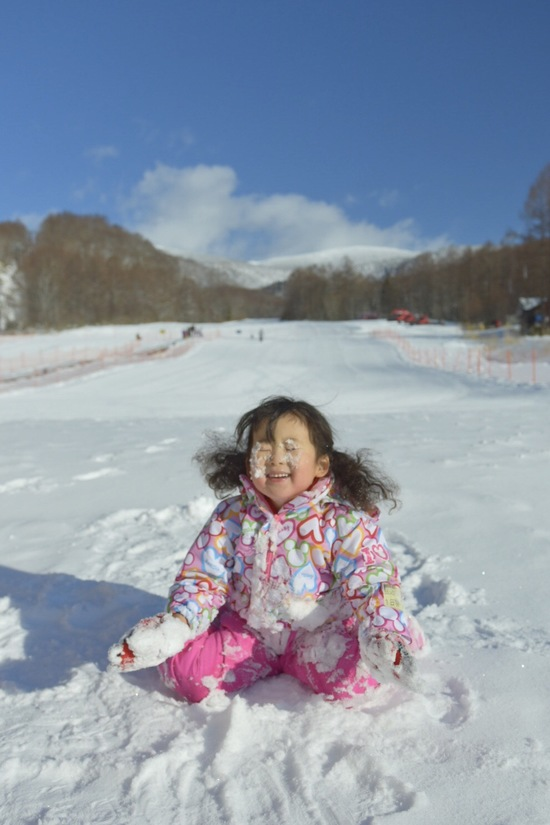 小さな子どもも楽しめる|グランデコスノーリゾートのクチコミ画像1