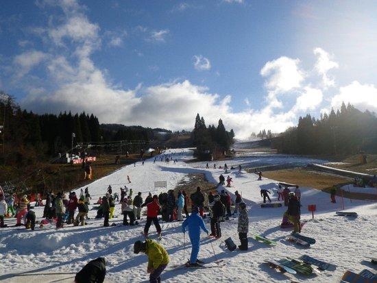 すごい人!!|鷲ヶ岳スキー場のクチコミ画像