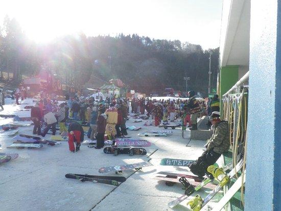 すごい人!!|鷲ヶ岳スキー場のクチコミ画像2