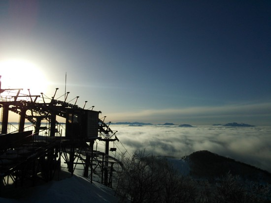 雲の上のスキー場!|志賀高原リゾート中央エリア(サンバレー〜一の瀬)のクチコミ画像