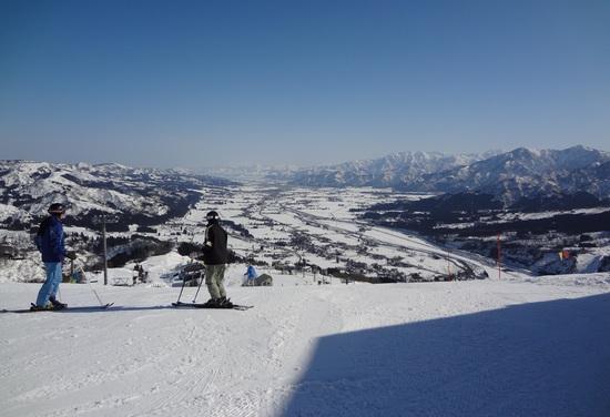 暖かい春の様な日でした。|石打丸山スキー場のクチコミ画像1