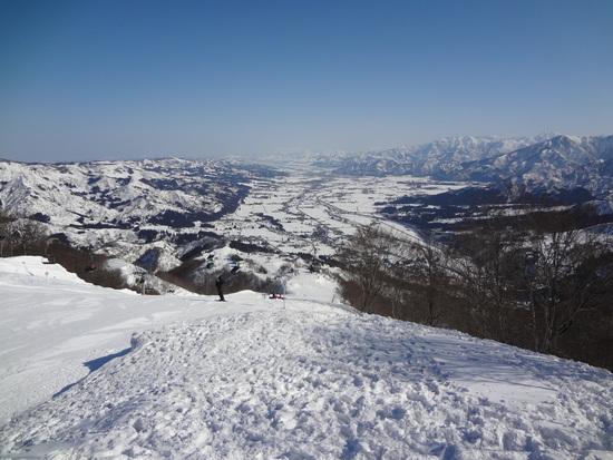 暖かい春の様な日でした。|石打丸山スキー場のクチコミ画像2