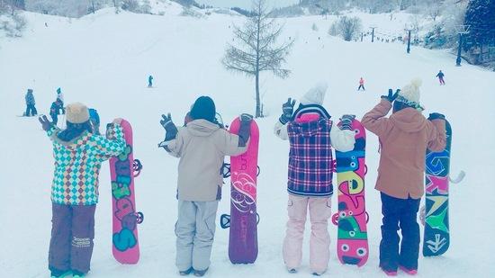 マイホームゲレンデ!|おじろスキー場のクチコミ画像