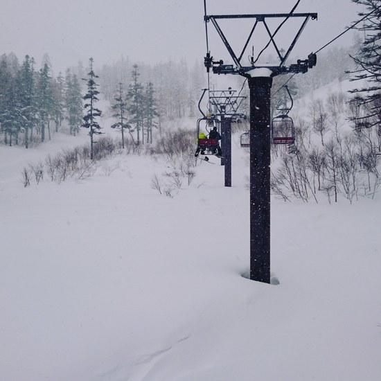 今シーズン初5ロマ|かぐらスキー場のクチコミ画像
