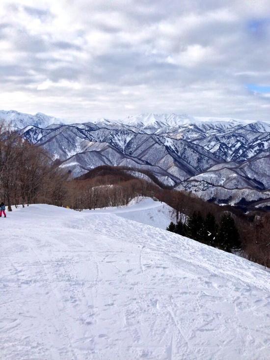 素晴らしい景色|水上宝台樹スキー場のクチコミ画像