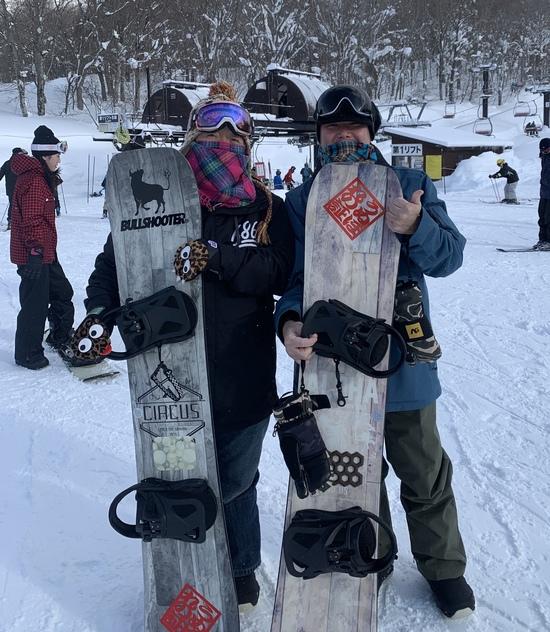 夫婦お揃い!|川場スキー場のクチコミ画像