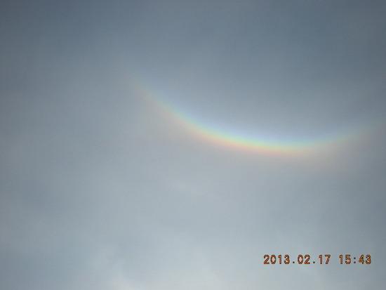頭の上に虹がでました 福井和泉スキー場のクチコミ画像1