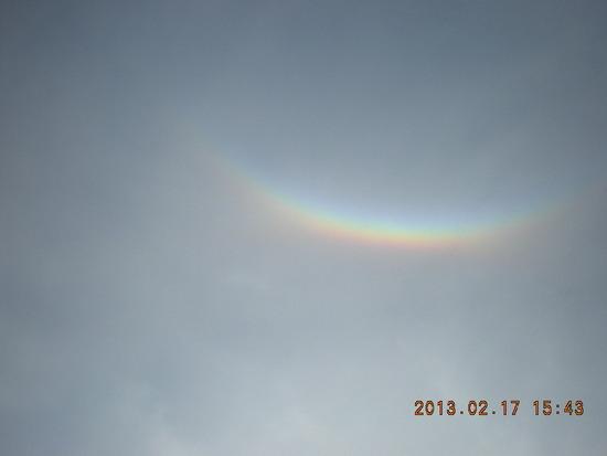 頭の上に虹がでました 福井和泉スキー場のクチコミ画像3