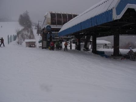 リフトはガラガラ|信州松本 野麦峠スキー場のクチコミ画像