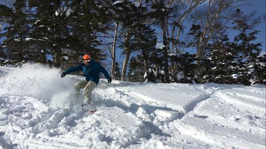 パウダースノーでガンガン滑った!|川場スキー場のクチコミ画像2