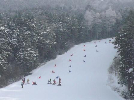 きれいなハードバーン|信州松本 野麦峠スキー場のクチコミ画像