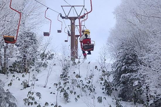 1人リフト|妙高杉ノ原スキー場のクチコミ画像