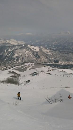 高層ビルから見おろすような景色|白馬八方尾根スキー場のクチコミ画像