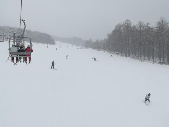 少雪シーズンの貴重な逃げ場|湯の丸スキー場のクチコミ画像2