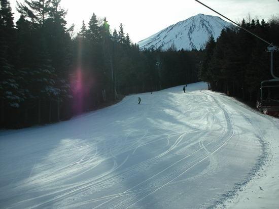 上級コースは雪質グッド|ふじてんスノーリゾートのクチコミ画像