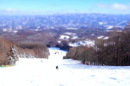 斜面の向きでだいぶ違う|HAKUBAVALLEY 鹿島槍スキー場のクチコミ画像1