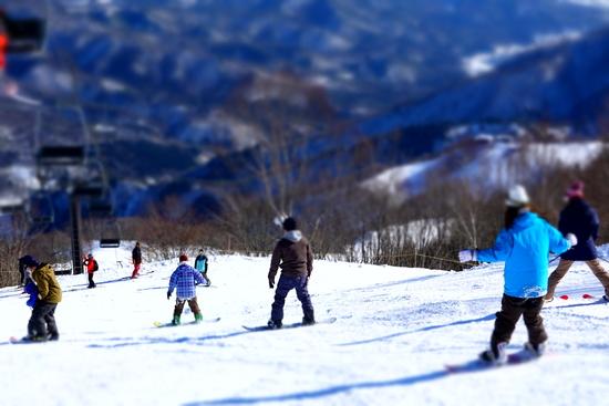 斜面の向きでだいぶ違う|HAKUBAVALLEY 鹿島槍スキー場のクチコミ画像2